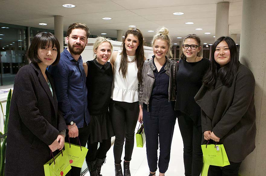 Ted Baker students