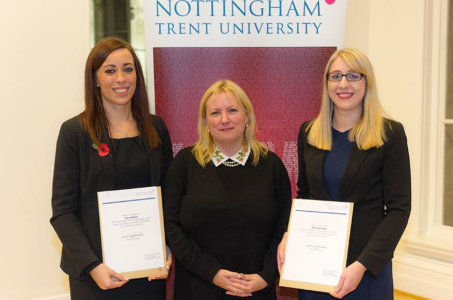 2015 prize winning law students