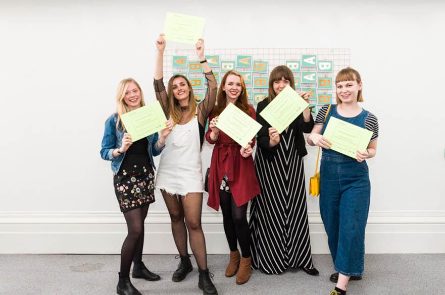 BA (Hons) Graphic Design, Paper Rose Award winners 2017