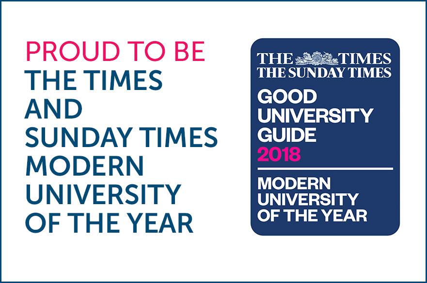 Modern University of the Year Logo