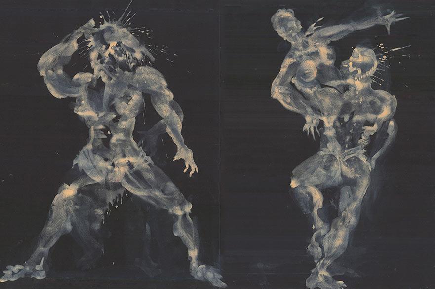 Anne Curry's Frankenstein costume designs