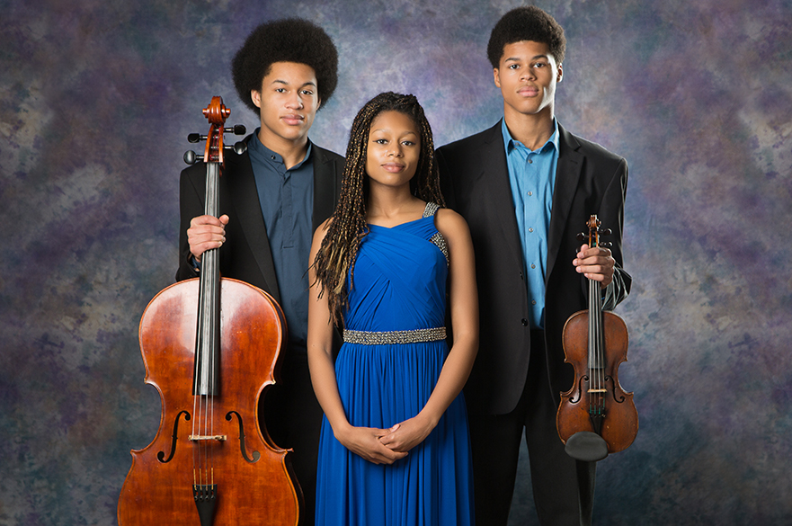 Sheku, Isata and Braimah Kanneh-Mason.