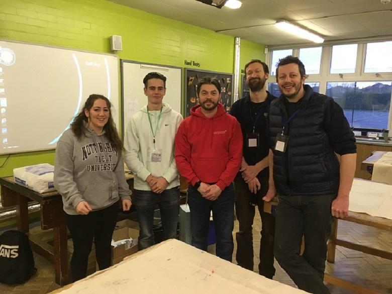 NTU students and ADBE technical staff at Fernwood Design Day 2018