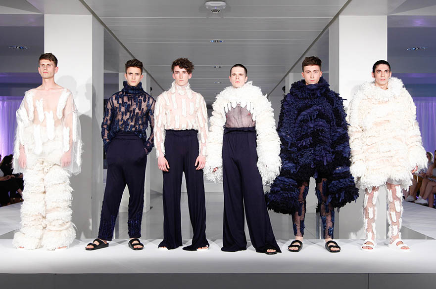 Fashion Knitwear catwalk line-up