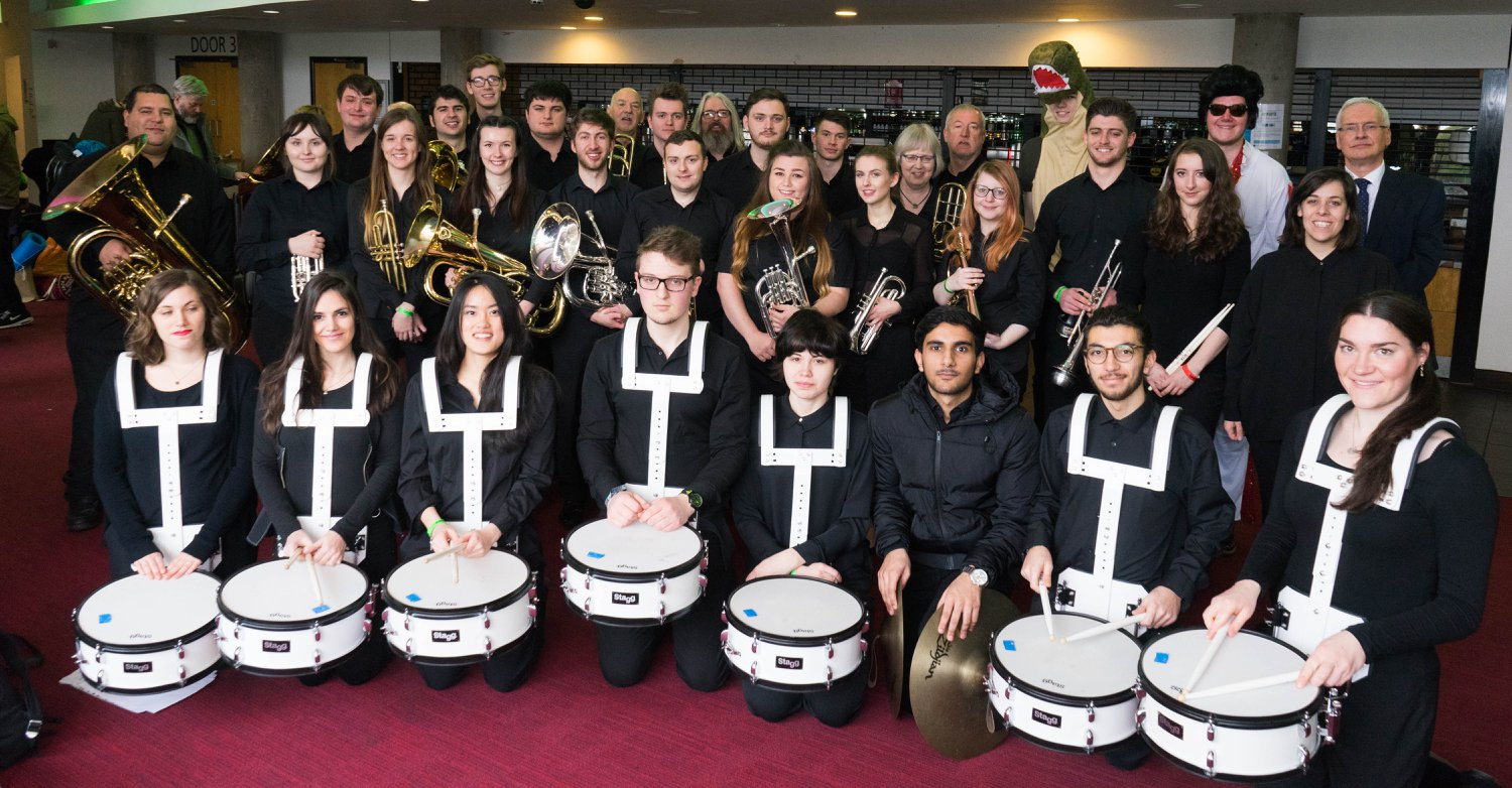 NTU Brass Band at Unibrass 2018