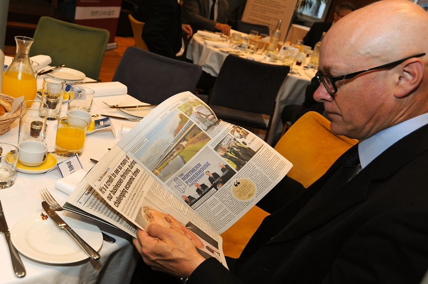 Will Rossiter reading the supplement
