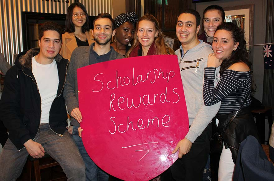 Scholarship Rewards Scheme Launch