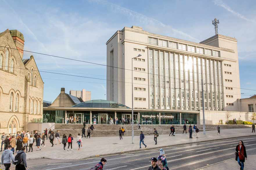 Nottingham Trent University's transparency on the use of tuition fees has been highlighted in new paper published by the Higher Education Policy Institute (HEPI)