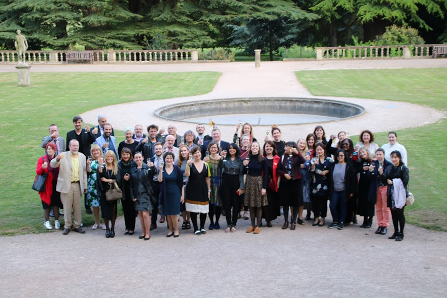 Nottwich UNESCO Summit group picture
