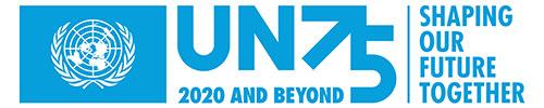 UN75 logo
