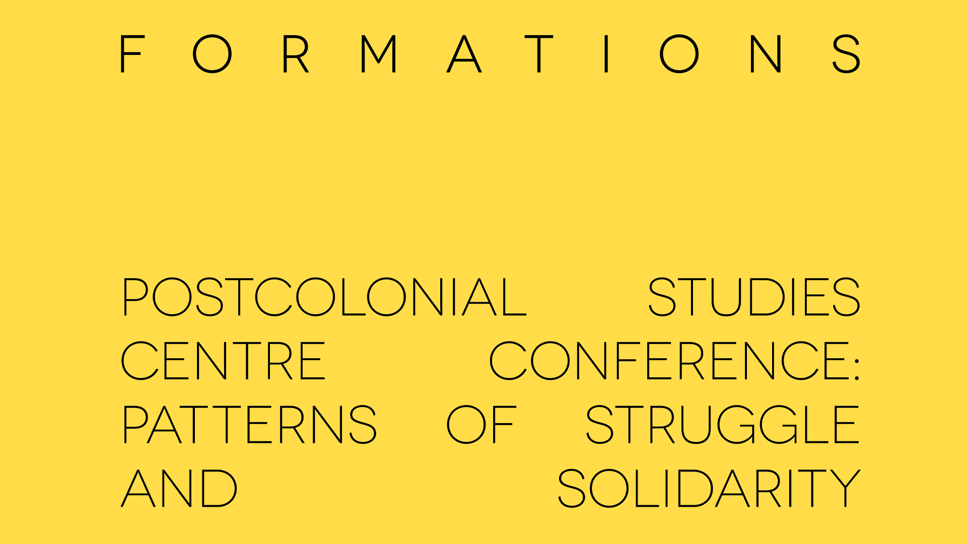Formations PSC conference