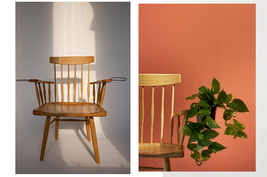The Verte Chair by  BA (Hons) Furniture and Product Design student, Abigail Slade.