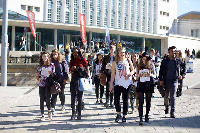 Nottingham Trent Students Welcome Week