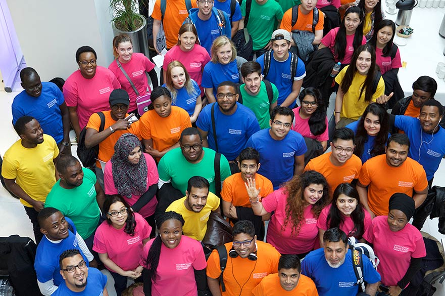 NTU Thinkubator students