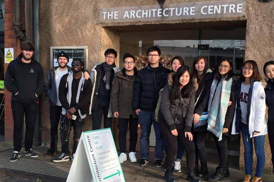 Interior Architecture and Design students visit Bristol