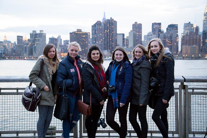 Graphic Design students New York