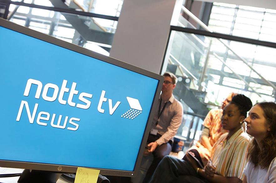 Notts TV screen