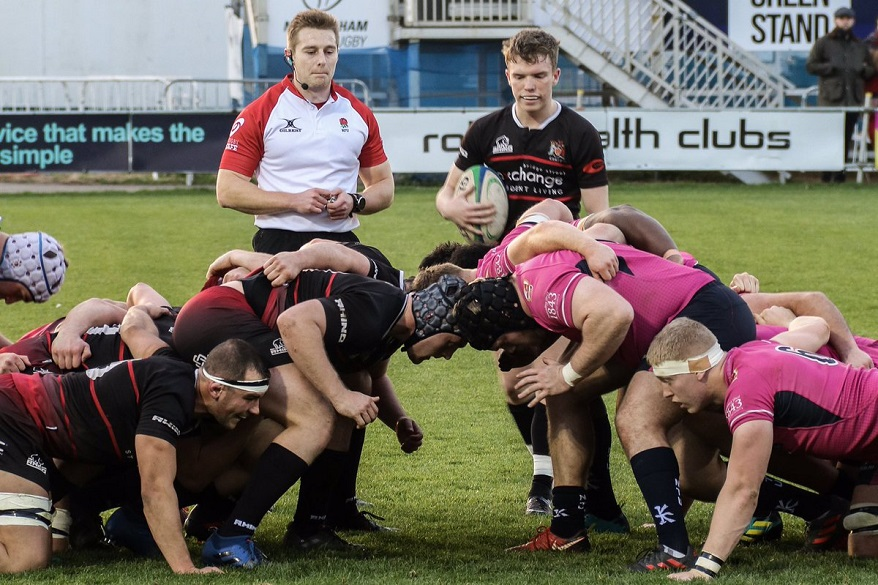 NTU in a scrum with Cardiff