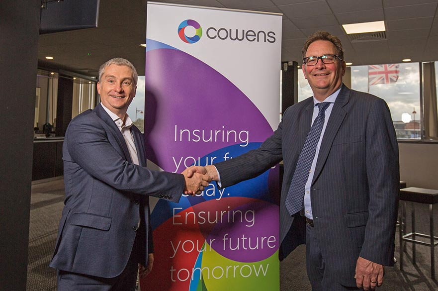 Tony Duckworth and Paul Chaplin from Cowens Group
