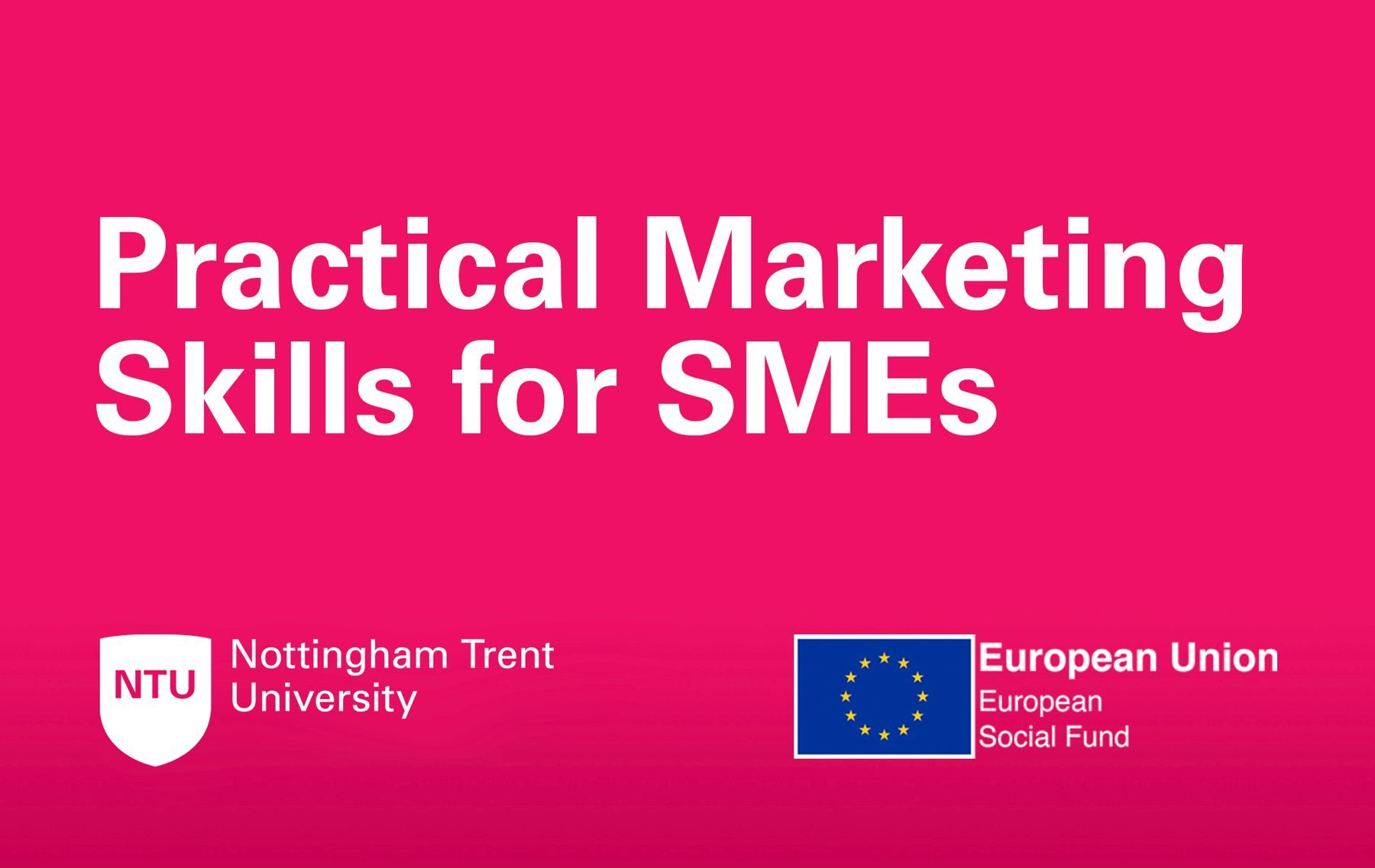 Practical Marketing Skills for SMEs artwork