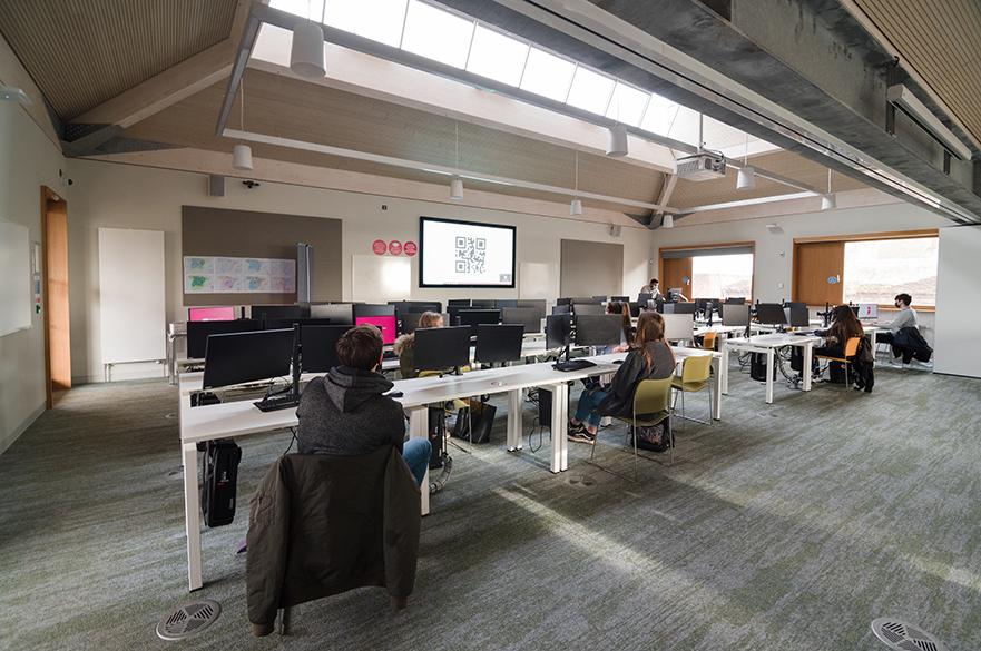 Lyth Geospacial computer room