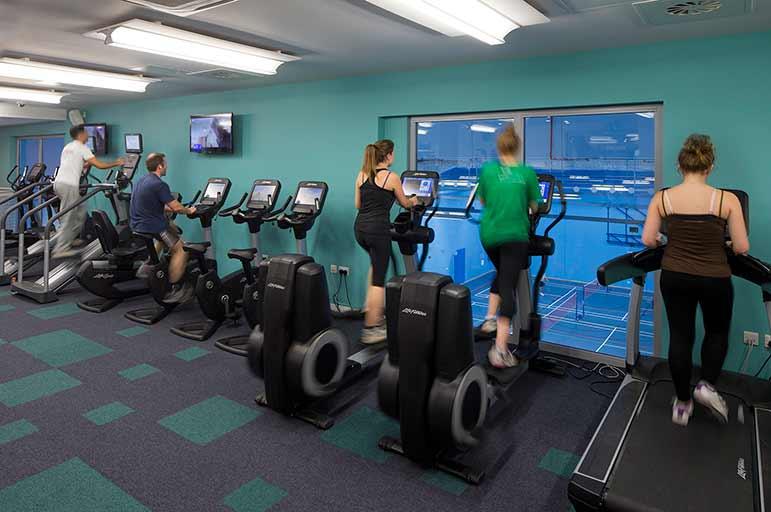 Nottingham Trent Student Union gym
