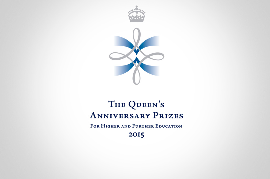Queens Anniversay Prize Award Logo