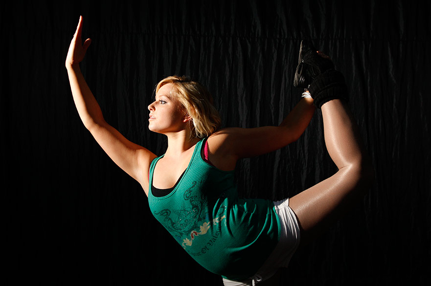 NTU dance student