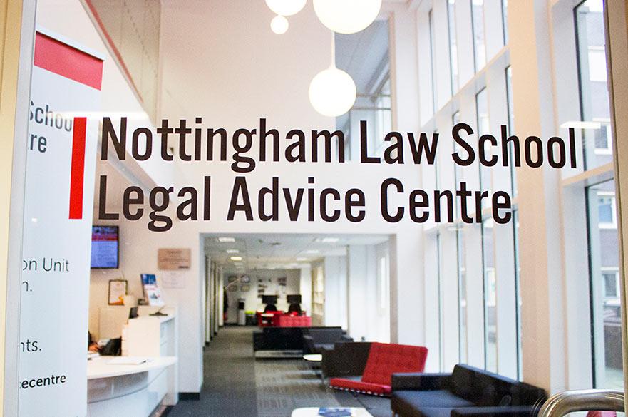 Nottingham Law School Legal Advice Centre