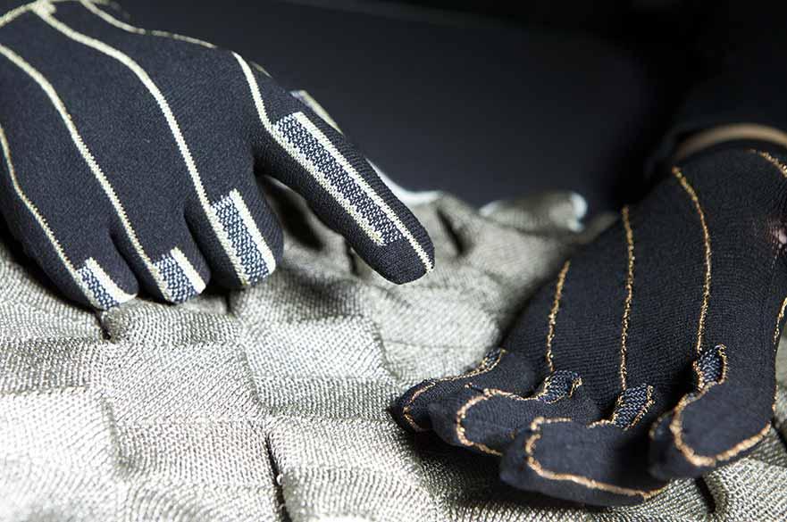 Prototype Heated Gloves