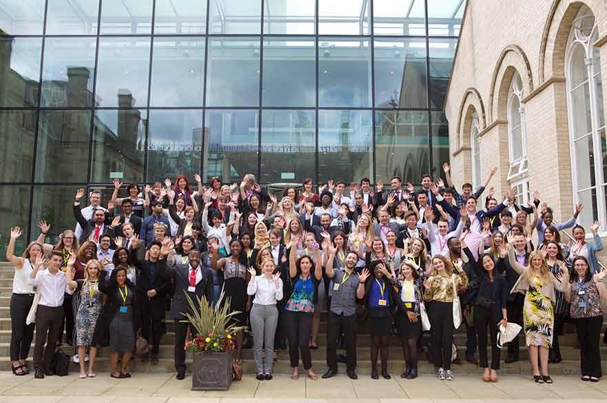 Grads4Nottm participants in 2016
