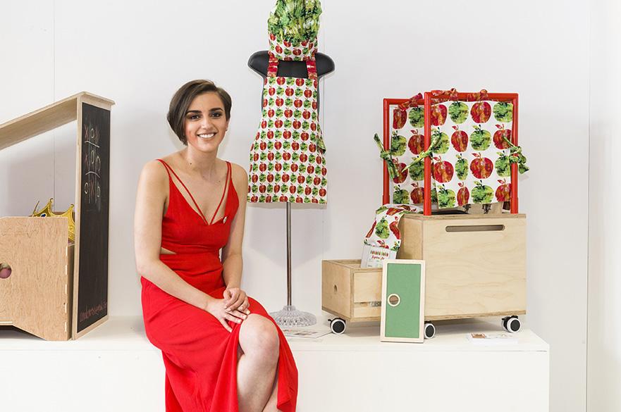 Simone Chester, BA (Hons) Furniture and Product Design, CSD Award winner 2017