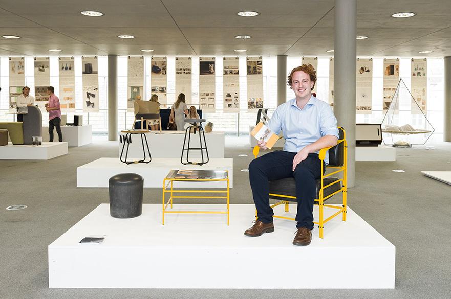 Dan Hook, BA (Hons) Furniture and Product Design, Crisp Award 2017