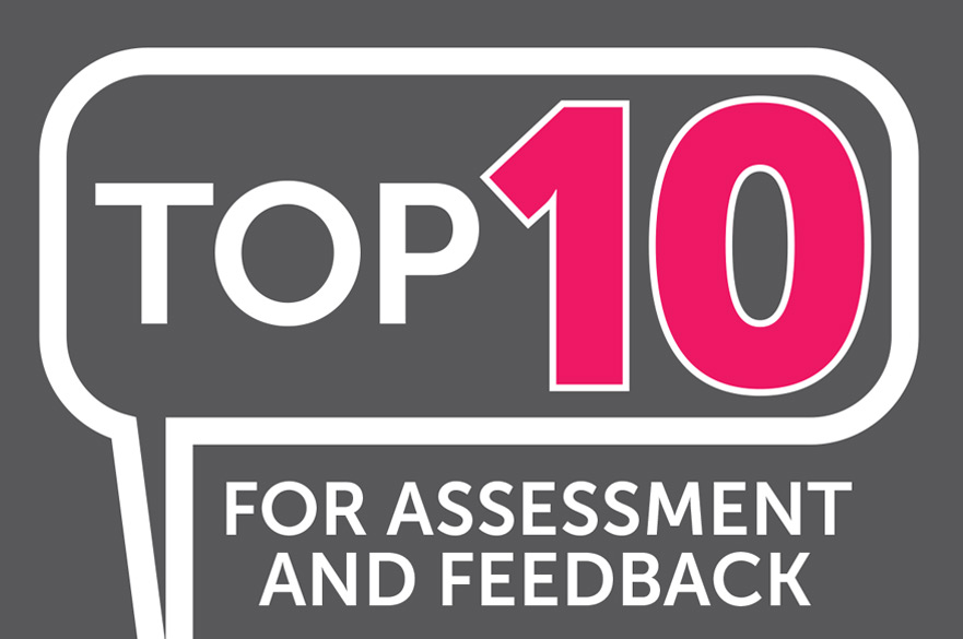 Top 10 for Assessment and Feedback