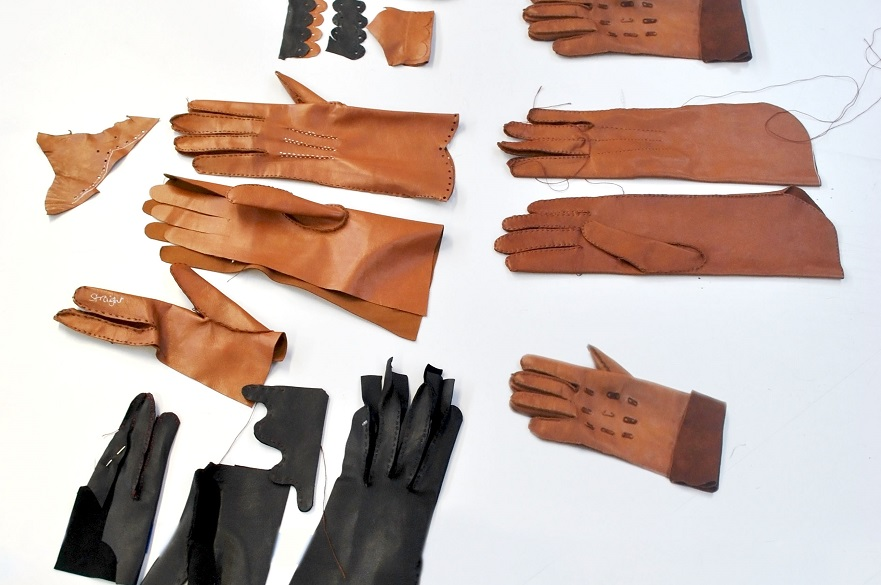 Glove Making with Leather