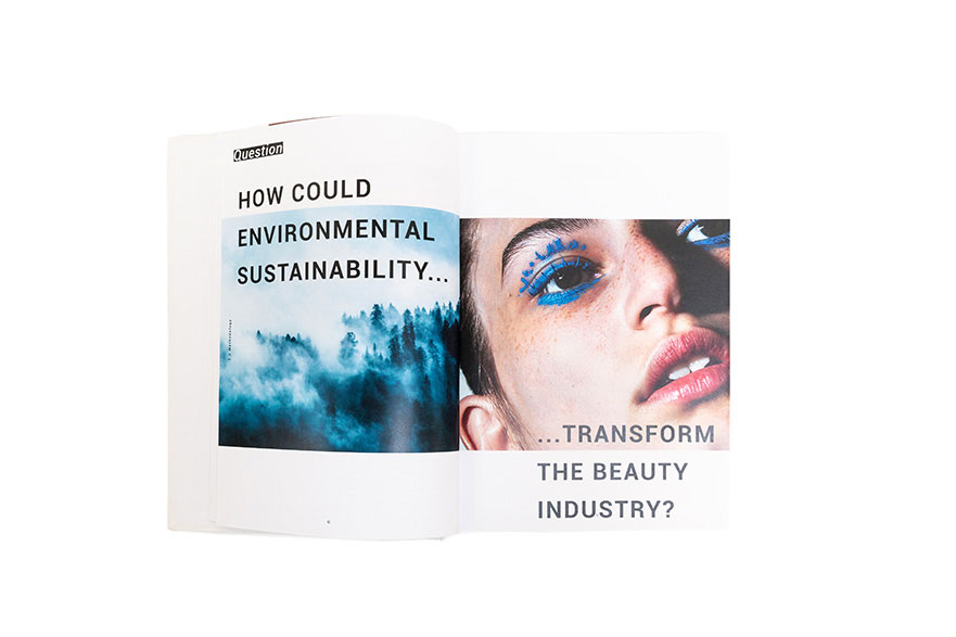 Final year project 'Environmental Sustainability in the Beauty Industry' by Ruth Marlow
