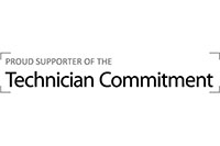 Technician Commitment supporter logo