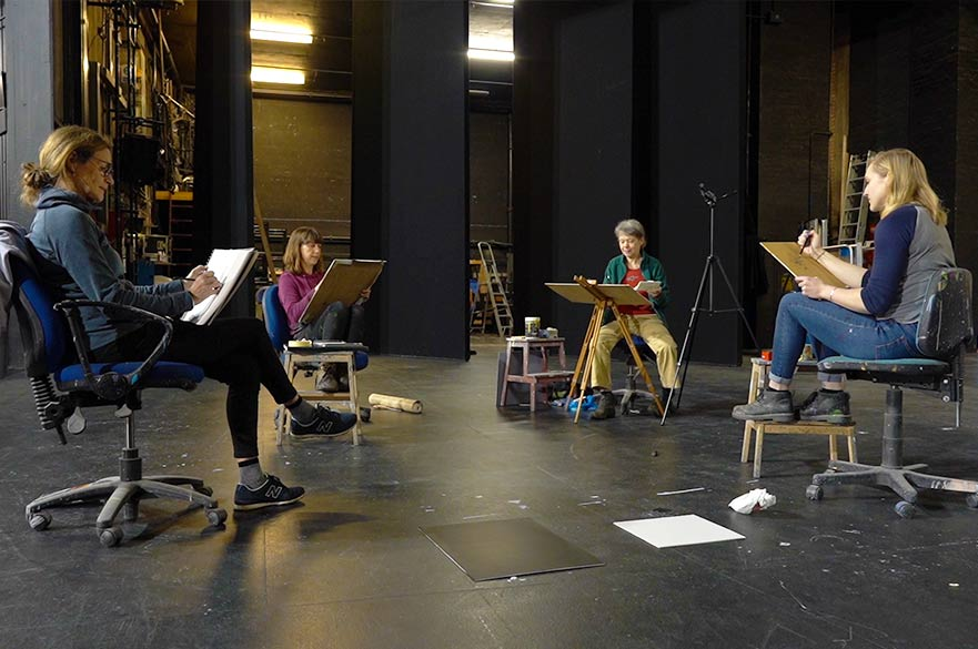 Nottingham Playhouse drawing club