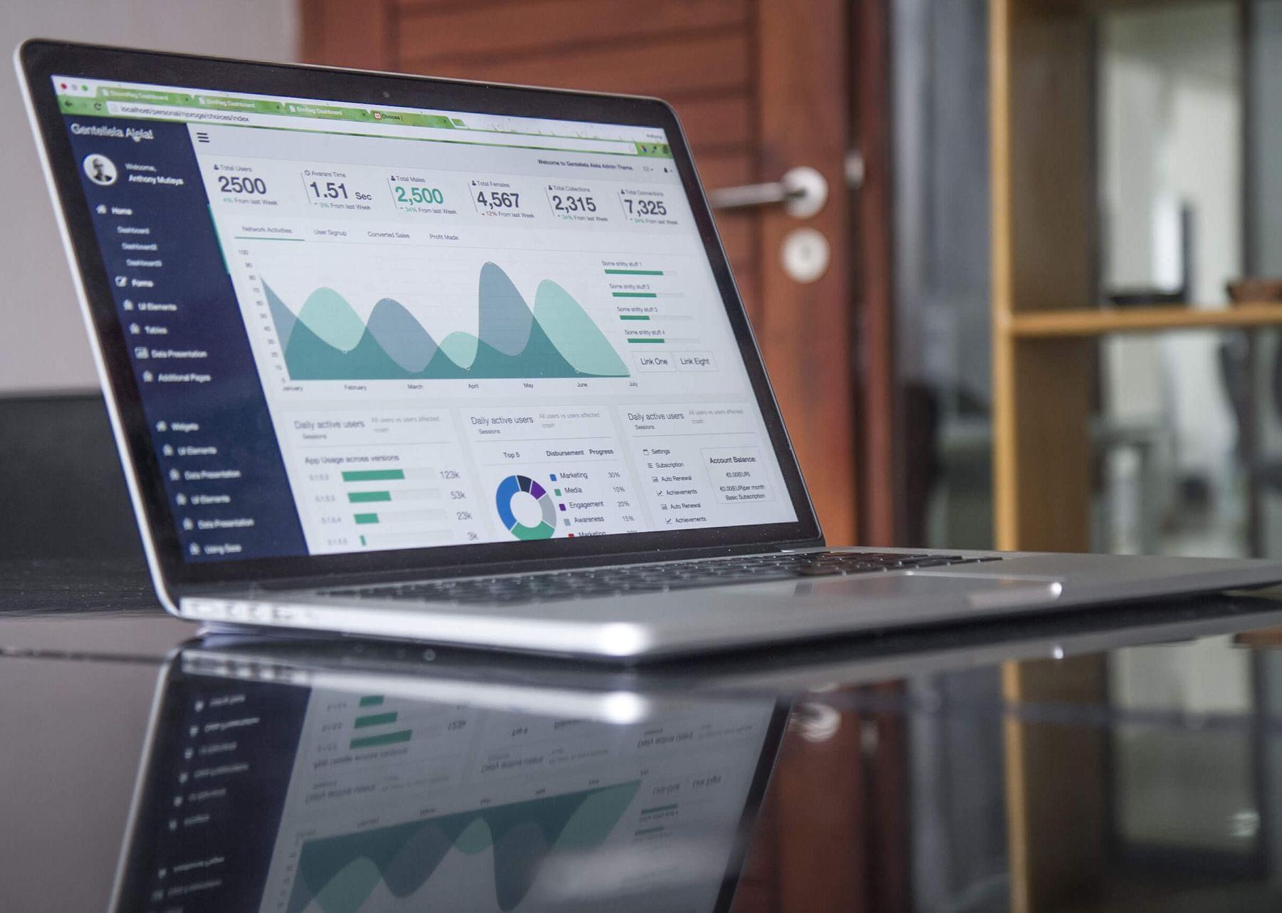 Practical Marketing Skills – image of a laptop