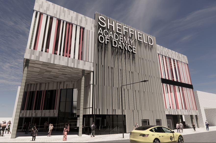 Sheffield Academy of Dance by BSc (Hons) Architectural Technology student, Joshua Heaton