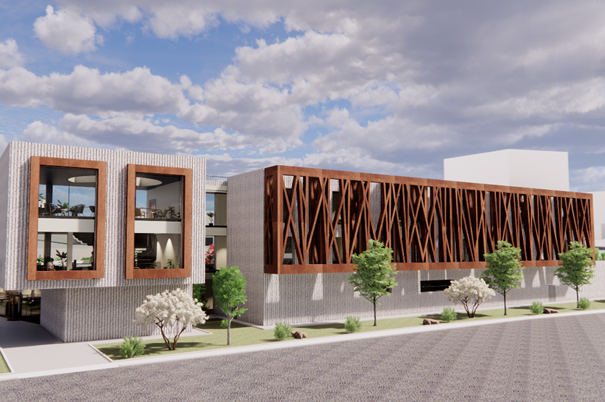 4 Thoughts Therapy Centre, Mansfield by BSc (Hons) Architectural Technology student, Oliwia Tometczak