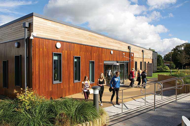 Brackenhurst Library image