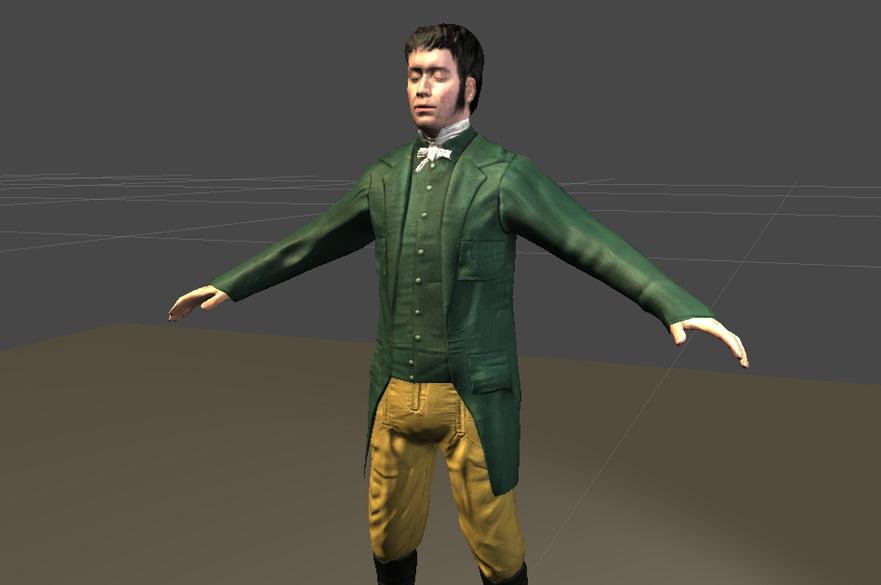 Digital model of James Marriot