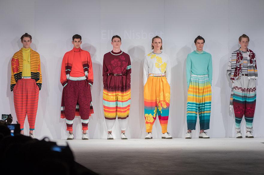Ella Nisbett two fashion awards
