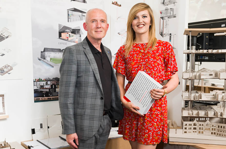 Anouska Tarleton, BA (Hons) Interior Architecture and Design, CSD Award winner 2017