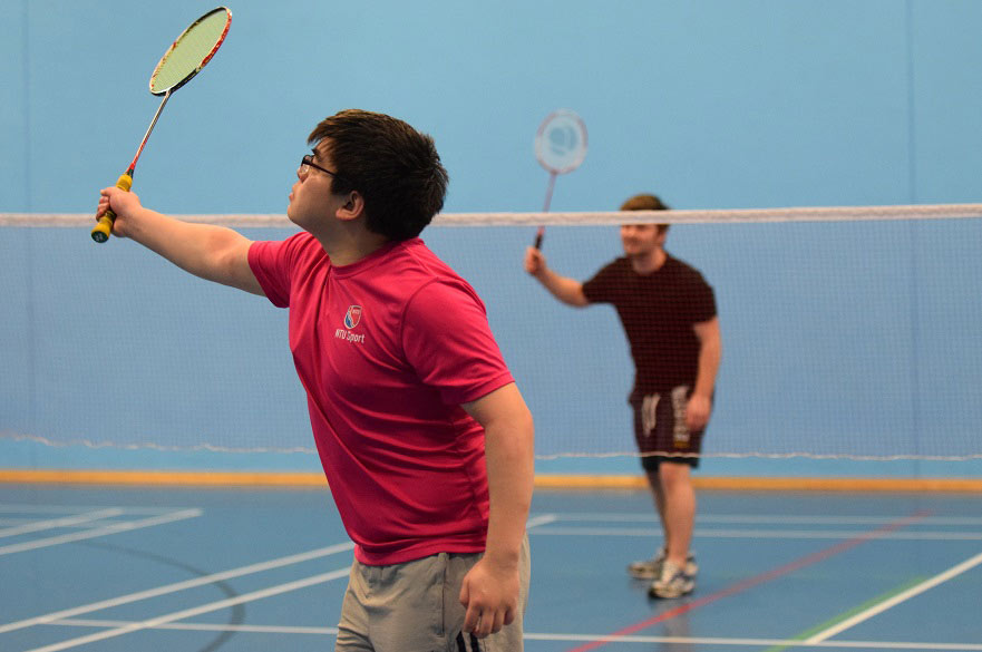 NTU Play for Fun badminton session