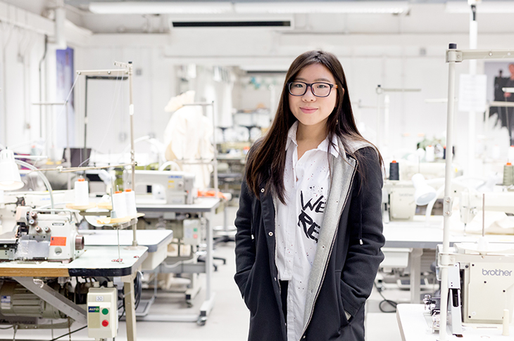 Fashion Design Student Lam Yung Nok