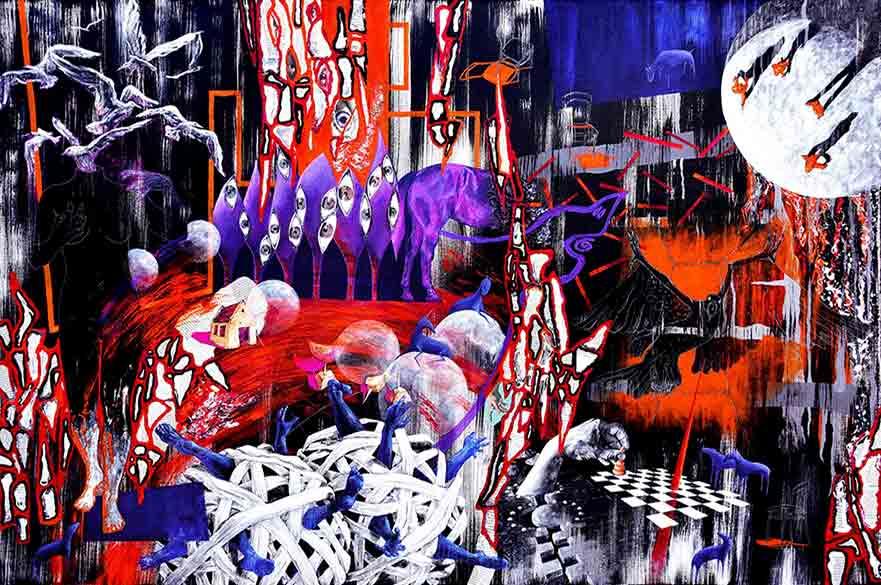 Szilvia Ponyiczki MFA Fine Art