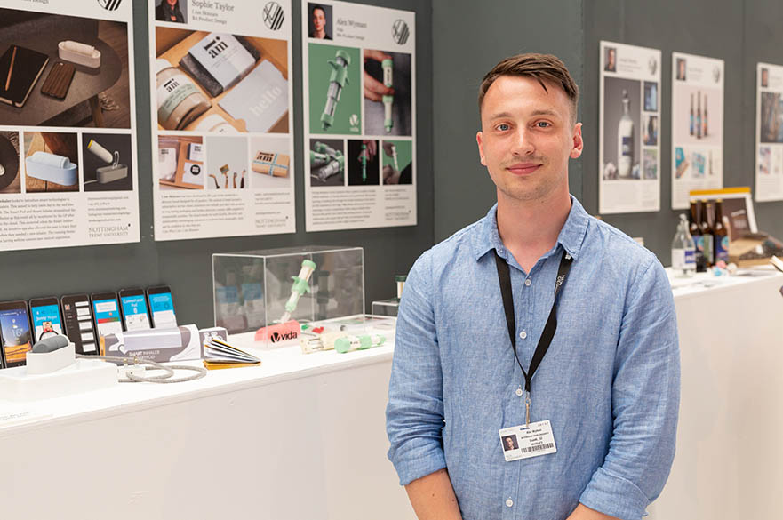 Alex Wyman, BSc (Hons) Product Design, New Designers Part Two 2018