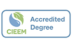 Chartered Institute of Ecology and Environmental Management Accredited Degree logo